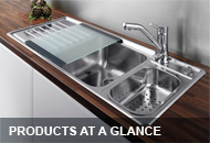 Products-at-a-glance: Sinks, taps, cooker hoods and accessories