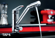 Kitchen taps from Blanco Germany