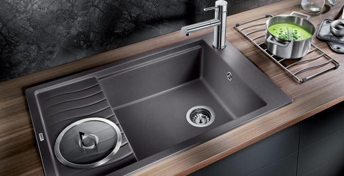 Cleaning Blanco Sinks : BLANCO SILGRANIT PURADUR - the precious stone in the kitchen